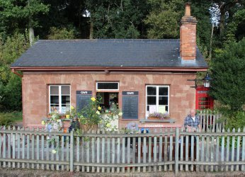 2014 West Somerset Railway Autumn Steam Gala - Stogumber - Booking Office