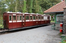 2014 Lynton and Barnstaple Railway - Woody Bay - third brake No.16