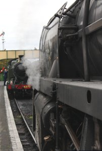 2014 Autumn Steam Gala Watercress Line - Ropley - BR Standard 9F Class 92212 & GWR 42xx 2-8-0T 4270