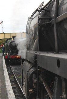 2014 Autumn Steam Gala Watercress Line - Ropley - BR Standard 9F Class 92212 & GWR 42xx 2-8-0T 4270