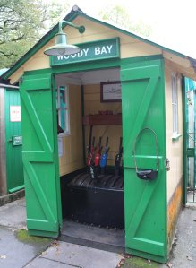 2014 Lynton and Barnstaple Railway - Woody Bay - signal box