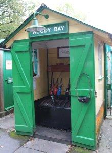 2014 Lynton and Barnstaple Railway - Woody Bay - signal box