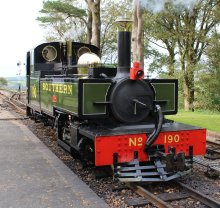 2014 Lynton and Barnstaple Railway - Woody Bay - Replica Manning Wardle 2-6-2T E190 Lyd