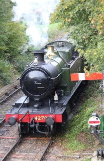 2014 Autumn Steam Gala Watercress Line - Ropley - GWR 42xx 2-8-0T 4270