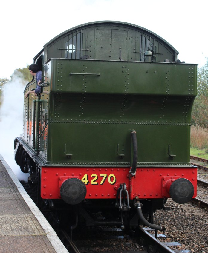 2014 Autumn Steam Gala Watercress Line - Alton - GWR 42xx 2-8-0T 4270