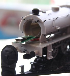 2014 Autumn Steam Gala Watercress Line Alresford - DJ Models Hunslet Austerity J94 pre-production DCC fitting 00 scale