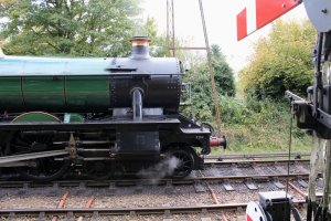 2014 Autumn Steam Gala Watercress Line - Ropley - GWR Modified Hall class 6960 Raveningham Hall