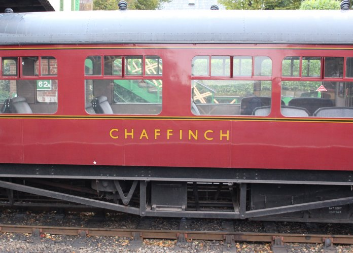 2014 Autumn Steam Gala Watercress Line - Ropley - GWR Autocoach W238W