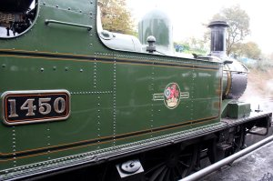 2014 Autumn Steam Gala Watercress Line - Ropley - Ex-GWR 14xx Class 1450