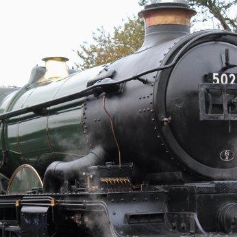 2014 Autumn Steam Gala Watercress Line - Ropley - Ex-GWR Castle Class - 5029 Nunney Castle
