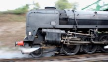 2014 Autumn Steam Gala Watercress Line - Ropley - BR Standard 9F Class 92212
