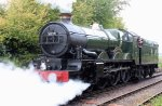2014 Autumn Steam Gala Watercress Line - Ropley - Ex-GWR Castle Class - 5029 Nunney Castle