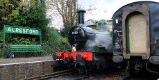 2014 Autumn Steam Gala Watercress Line - Alresford - Ex-GWR 14xx Class 1450 and Autocoach W238W