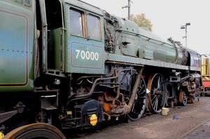 2014 Autumn Steam Gala Watercress Line - Ropley - BR Standard 7MT - 70000 Britannia