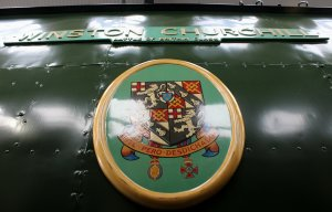 2014 Autumn Steam Gala Watercress Line - Ropley - Bulleid Battle of Britain Class 34051 Sir Winston Churchill