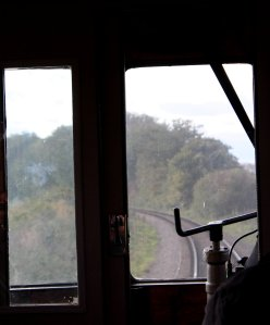 2014 Autumn Steam Gala Watercress Line - Inside Ex-GWR Autocoach W238W