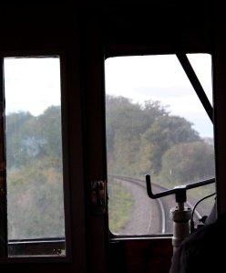 2014 Autumn Steam Gala Watercress Line - Inside Ex-GWR Autocoach W238W