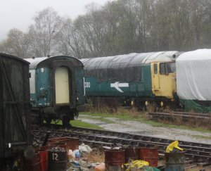Nov 2014 Peak Rail Rowsley South - Class 50