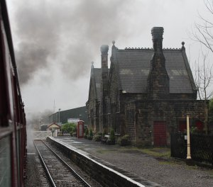Nov 2014 Peak Rail Darley Dale station