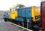 Nov 2014 Peak Rail Matlock - Class 14 Diesel Shunter 14901