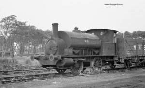 A woeful looking no 2 - N3452 1885 at Baroney Colliery, Auchinlek, Ayrshire 9-9-1968