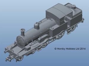 Hornby class 415 LSWR Adams Radial Tank r3334_1