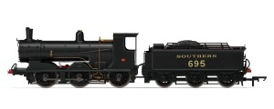 Hornby LSWR Blackmotor Southern lined E695 r3238