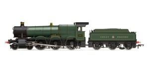 Hornby RailRoad GWR 4-6-0 'Adderley Hall' 4900 Hall Class - R3170