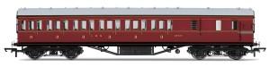 LMS Non-Corridor 57ft Third Class Brake Coach r4677a