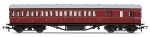 LMS Non-Corridor 57ft Third Class Brake Coach r4677a