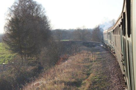 Spa Valley Railway 2014 - Hunslet Austerity 3155 War Department WD 75105 Walkden