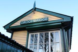 Spa Valley Railway 2014 Groombridge - signal box