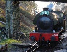 Spa Valley Railway 2014 Groombridge - Hunslet Austerity 3155 War Department WD 75105 Walkden