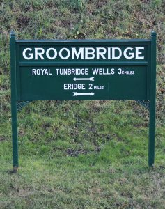 Spa Valley Railway 2014 Groombridge - sign