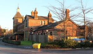 Spa Valley Railway 2014 Tunbridge Wells West former station
