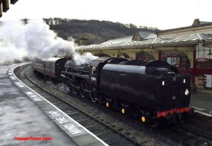 Copyright Robert Green BR 4MT 75078 Keighley and Worth Valley Railway 2015