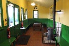 Mid Hants Railway Spring Steam Gala 2015 Ropley waiting room