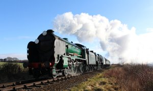 Mid Hants Railway Spring Steam Gala 2015 Ropley - Schools class V 925 Cheltenham & 850 Lord Nelson