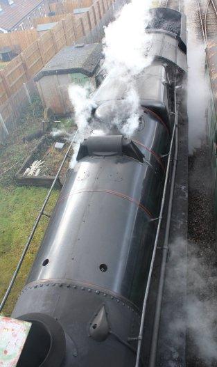 Mid Hants Railway Spring Steam Gala 2015 Medstead and Four Marks - Ex-LMS Black 5 45379