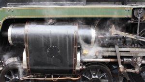 Mid Hants Railway Spring Steam Gala 2015 Ropley - BR Standard class 7MT 70000 Britannia cylinder