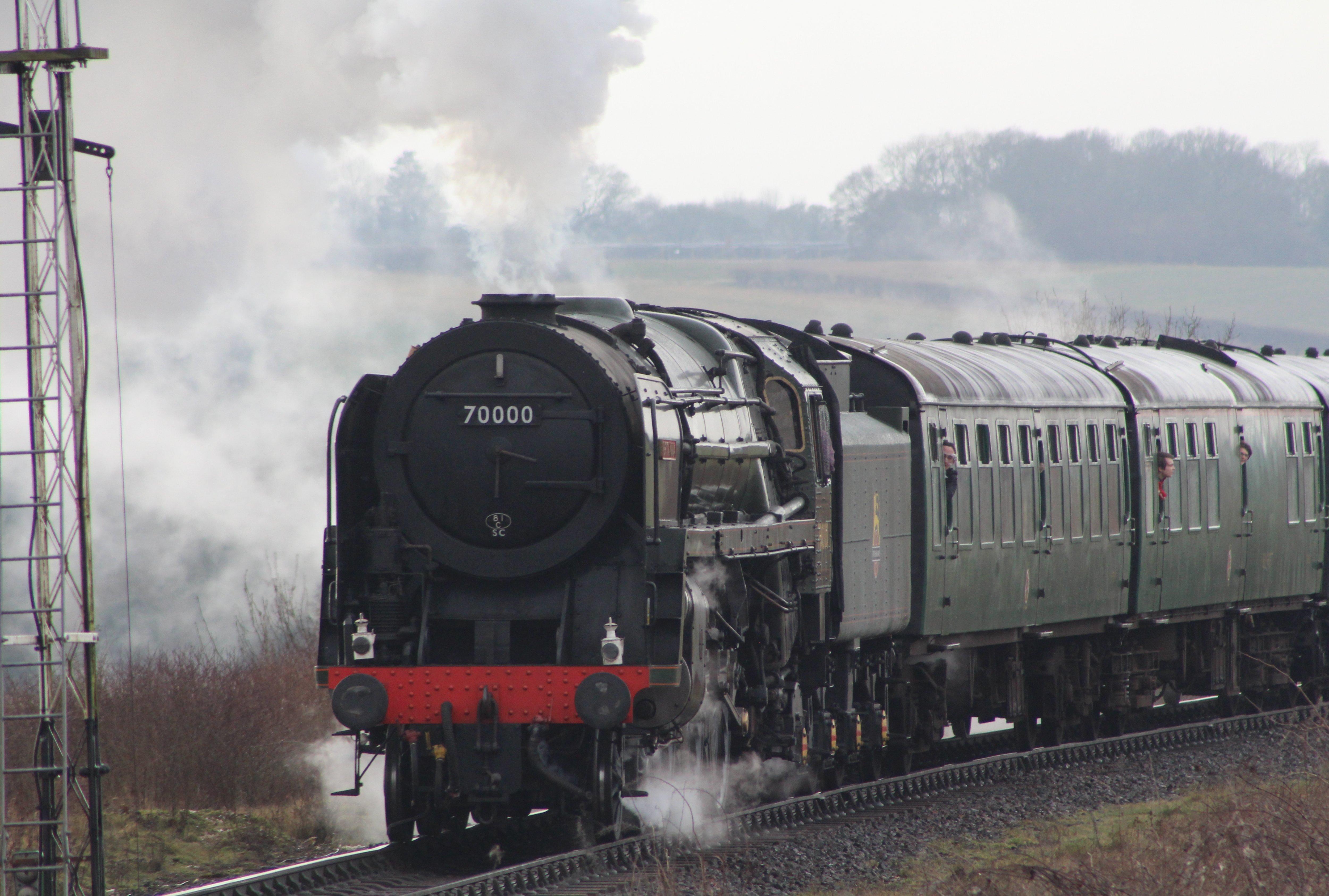70000 Britannia – almost an old friend! | Loco Yard