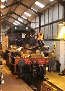 Mid Hants Railway Spring Steam Gala 2015 Ropley - Ivatt 2MT 2-6-2T 41312