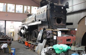 Mid Hants Railway Spring Steam Gala 2015 Ropley - BR Standard 4MT 4-6-0 class 75079