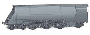 Hornby unrebuilt Merchant Navy