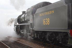 2015 - Bluebell Railway - Sheffield Park - Southern Railway Maunsell U class 1638