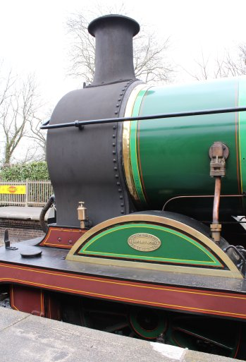 2015 - Bluebell Railway - Sheffield Park - South Eastern and Chatham Railway H class 263