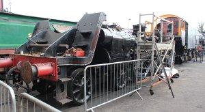 2015 - Bluebell Railway - Sheffield Park - British Railways Standard Class 5MT 73082 Camelot frames