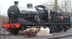 2015 - Bluebell Railway - Sheffield Park - Southern Railway Maunsell Q class BR 30541