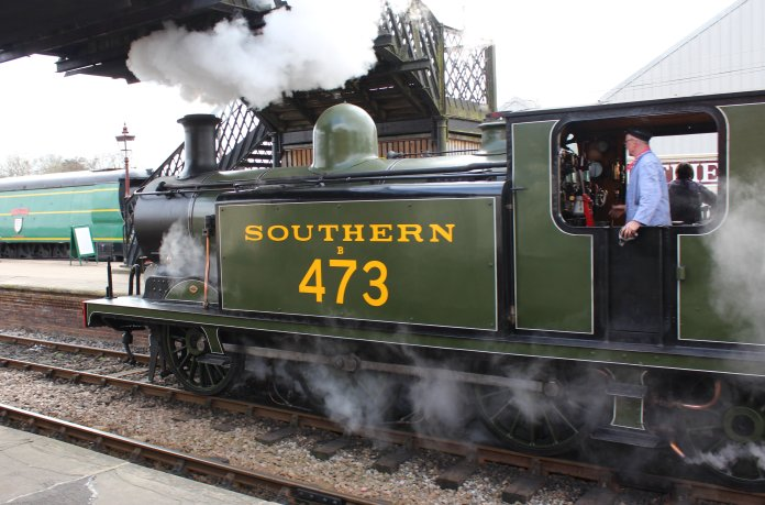 2015 - Bluebell Railway - Sheffield Park - London Brighton & South Coast Railway Class E4 0-6-2T B473 (Birch Grove)