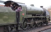 2015 - Bluebell Railway - Sheffield Park - Southern Railway Maunsell S15 class 847